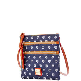 Twins Triple Zip Crossbody