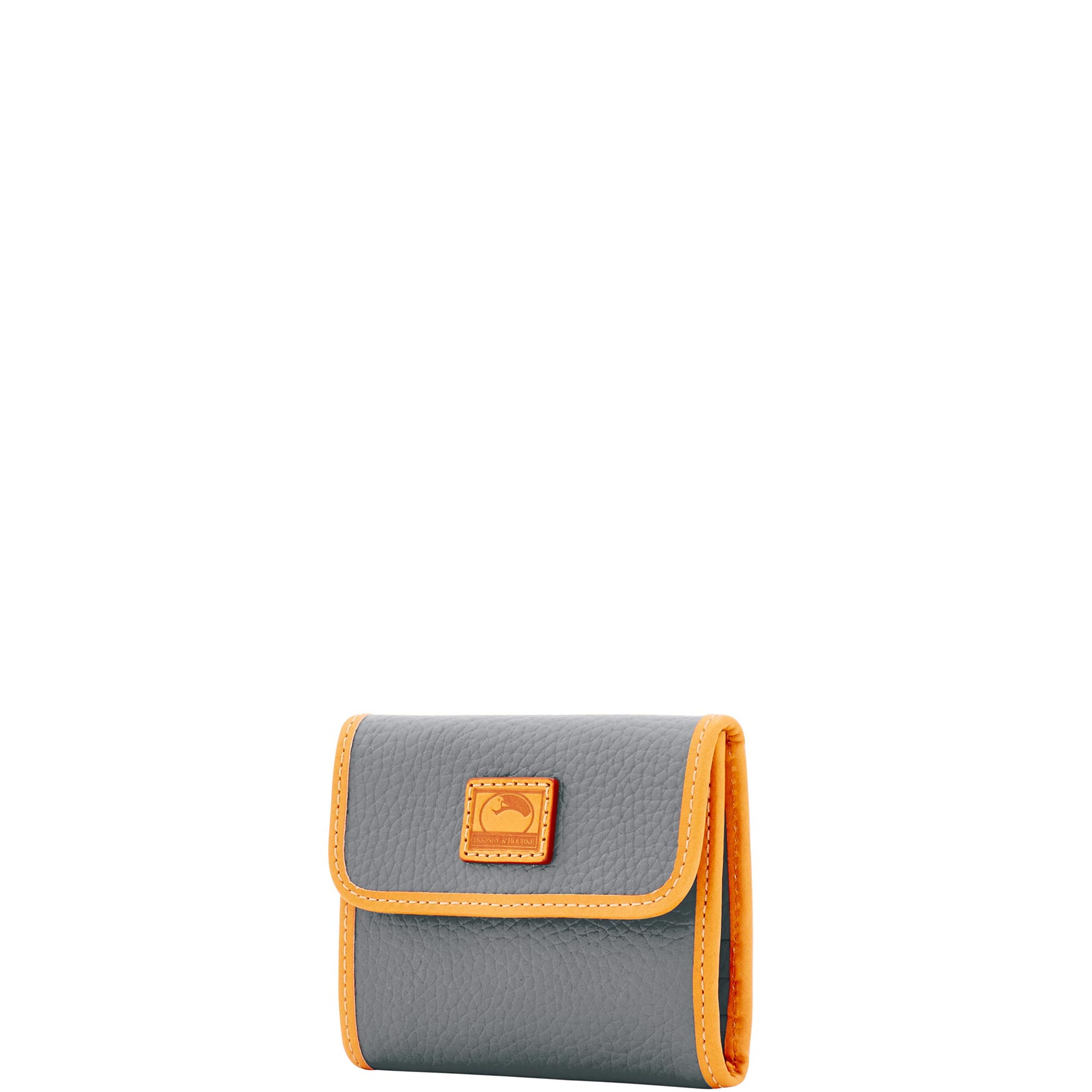 Dooney-amp-Bourke-Patterson-Leather-Small-Flap-Credit-Card-Wallet thumbnail 46
